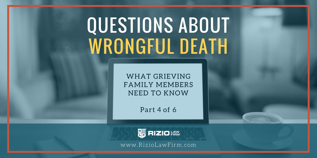 Why Sue for Wrongful Death