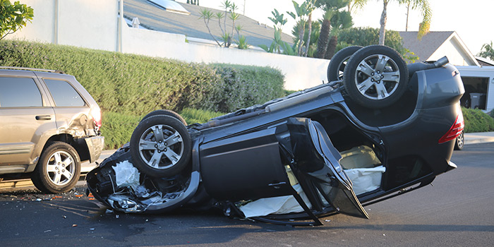 Vehicle Rollover Accident